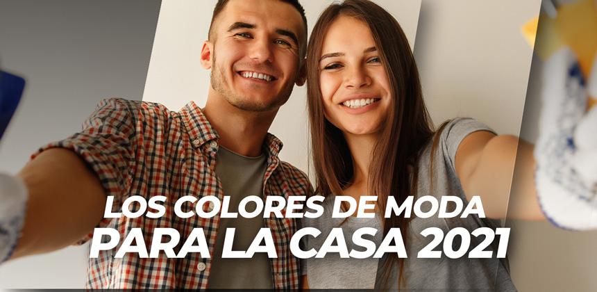 LOS COLORES DE MODA PARA LA CASA